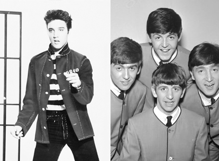 elvis-beatles