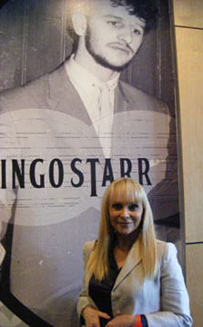Singer Jackie DeShannon, who toured with The Beatles in 1964, at the GRAMMY Museum. Photo by Trina Yannicos