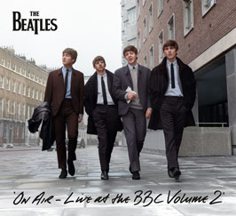 """The Beatles """"On Air: Live At The BBC Vol 2"""" Cover"""