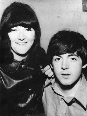 Freda Kelly and Paul McCartney; courtesy Freda Kelly