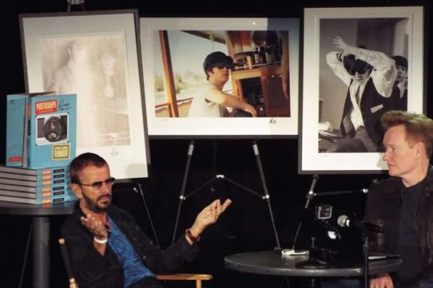 Ringo Starr and Conan O'Brien