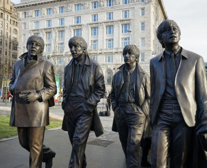 beatles statue-closeC