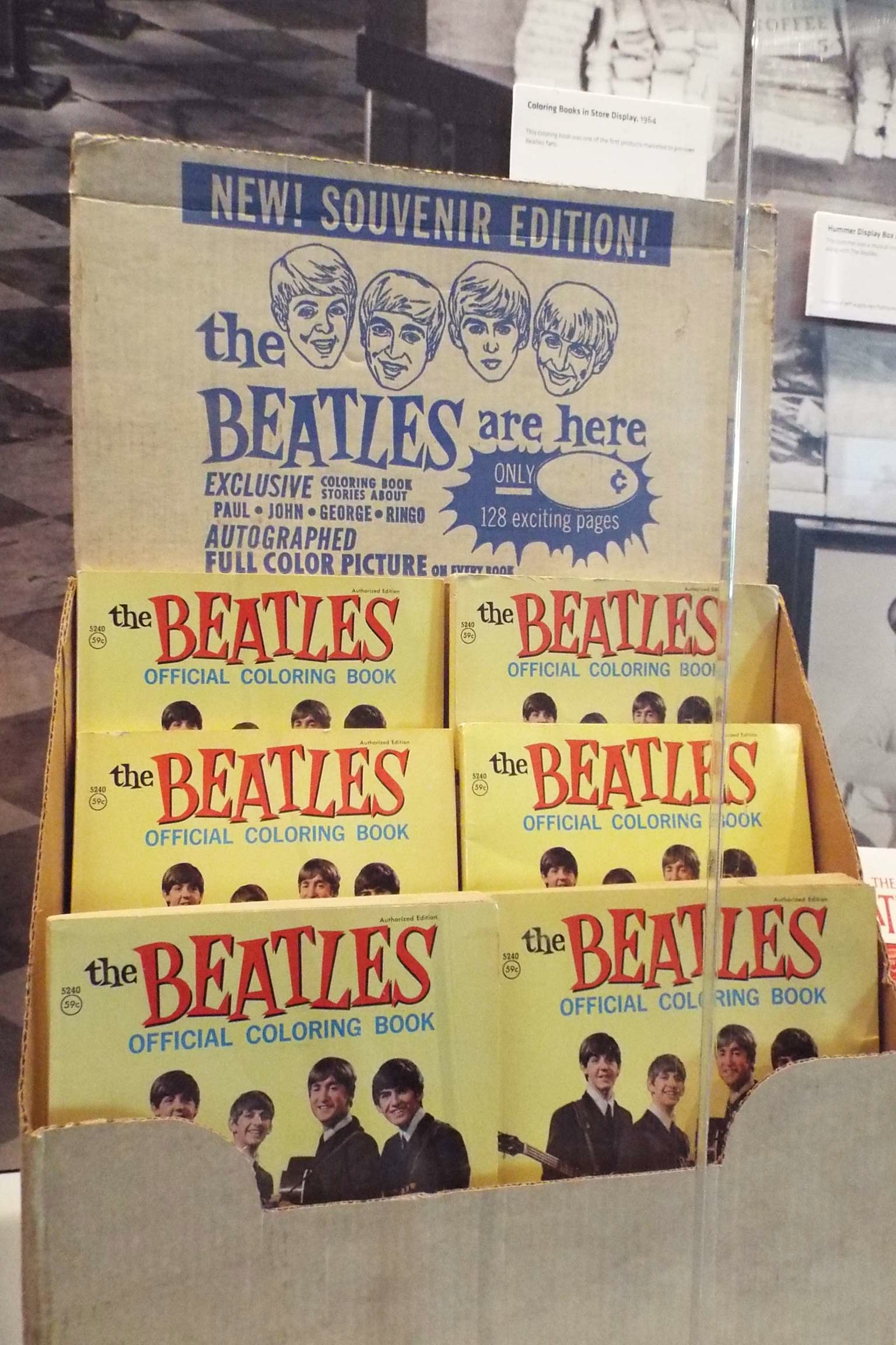 ladies and gentlemen - Beatles Coloring Book