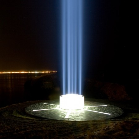 John Lennon Memorial The Imagine Peace Tower Was 40