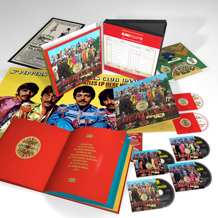 Beatles Sgt Pepper 50 deluxe