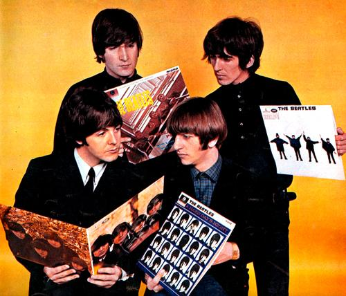 beatles-with-records2