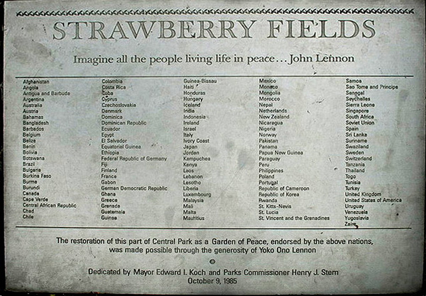 StrawberryFields-plaque