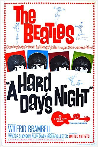 beatles movie poster