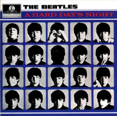 A hard days night Beatles album