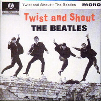 Beatles EP Twist and Shout