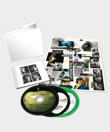 The Beatles white album 3 CD set