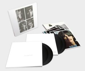 The Beatles white album 4 LP set