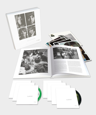 The Beatles white album super deluxe package
