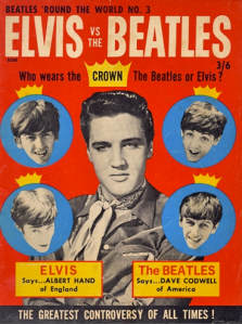 Elvis VS Beatles magazine