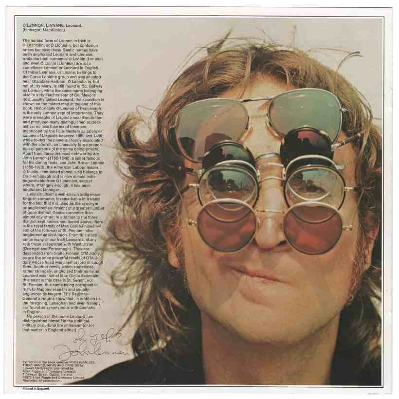John Lennon Walls and Bridges album